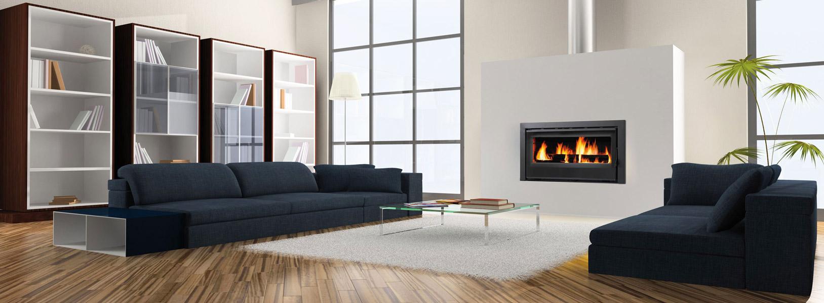 chemin e ou insert au centre de votre habitation. Black Bedroom Furniture Sets. Home Design Ideas