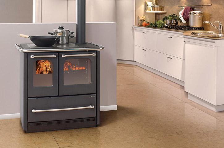 Cuisiniere Bois Gaz - La cuisini u00e8reà bois pour cuisiner et chauffer votre pi u00e8ce